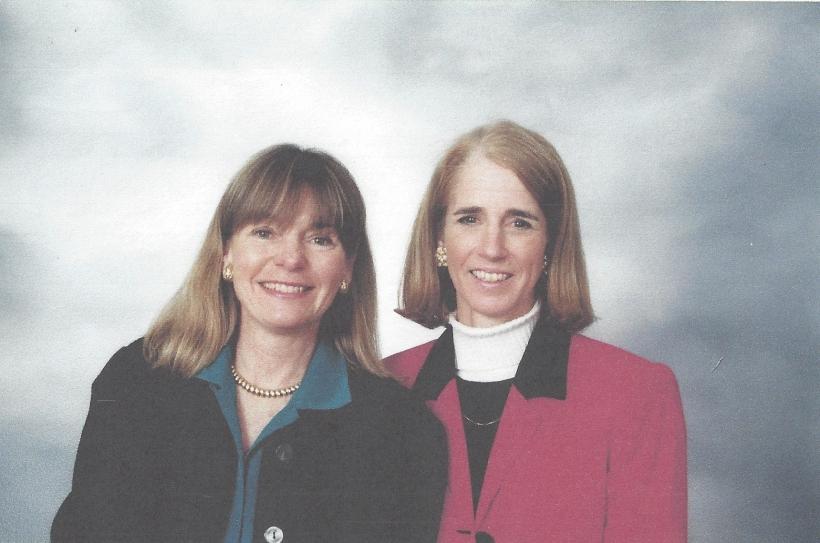 Caption Meg and Whitty 1991